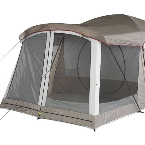 Cabin Dome Tent by Wenzel Klondike Eight Person Family Cabin Dome Tent Review