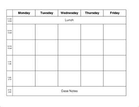 5 day work week calendar template 9 work week calendar template memo formats