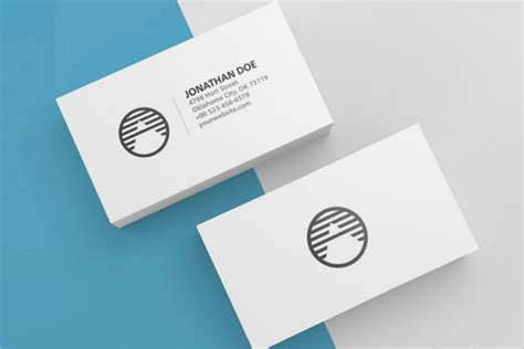 Blank Business Card Template Psd 28 Images 68 Best Psd Business Card Templates Free Premium Blank Business Card Template Psd
