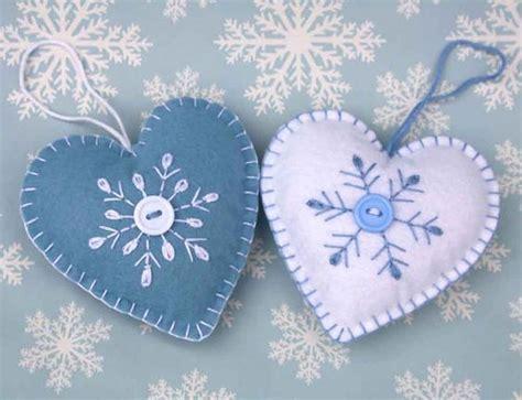 Handmade Ornament Patterns - felt ornament handmade scandinavian