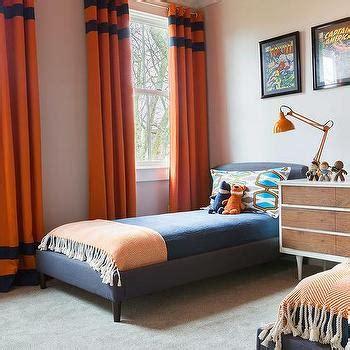 orange curtains for bedroom orange curtains design ideas