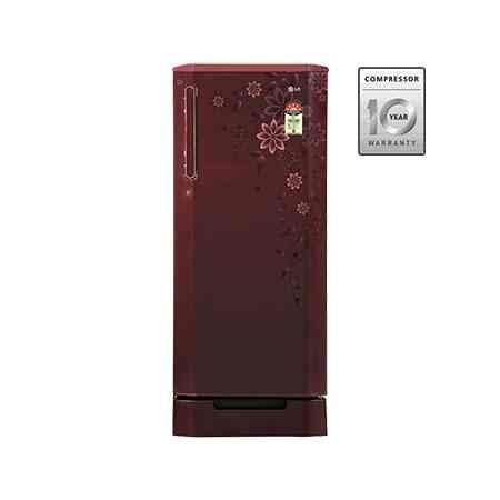 Door Refrigerator Price In Delhi by Lg Gl 245badg5 235l Single Door Refrigerator Price Specification Features Lg Refrigerator On