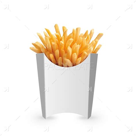 fries packaging template packreate 187 large fries packaging psd mockup
