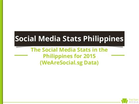 thesis about social media marketing in the philippines social media stats in the philippines 2015