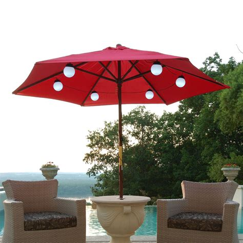 Patio Umbrellas With Lights Patio Umbrella Lights Style Jacshootblog Furnitures Beautiful Patio Umbrella Lights