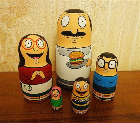 7 Ways To Get In On The Matryoshka Doll Trend by Bob S Burgers Family Nested Matryoshka Dolls