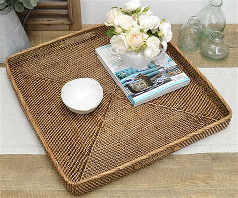 Trays To Put On Ottomans Ottoman Trays Large Trays For Coffee Tables