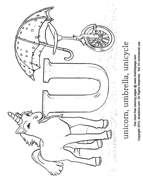 letter u coloring abc s free coloring pages for kids