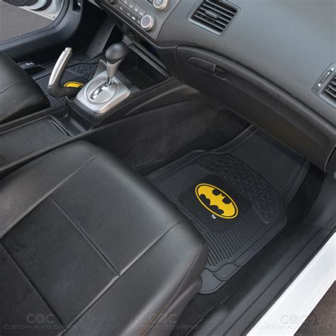 Batman Car Floor Mats by Original Batman Rubber Front Car Floor Mats Set Gift Pack
