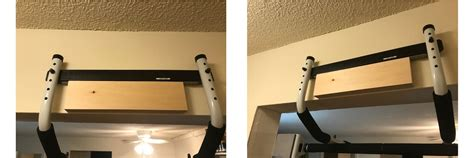 install  doorway pull  bar   door frame