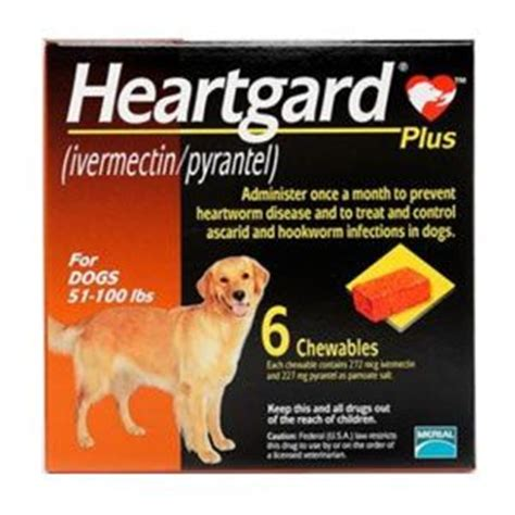 heartgard plus for dogs up to 25 lbs heartgard plus chewable tablets for dogs 51 100 lbs for the puppies