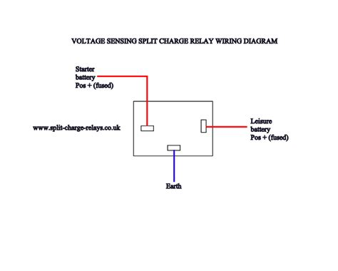 split charge relay wiring diagram wiring diagram