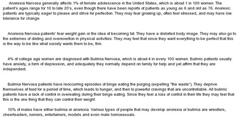 Anorexia Essay by Anorexia Nervosa And Bulimia Nervosa Essay At Essaypedia
