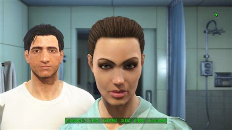 hair and face models fallout 4 fallout 4 angelina jolie mod download