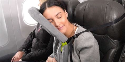Pillow For Airplane Travel by Facecradle Travel Pillow Helps You Sleep Better Upright