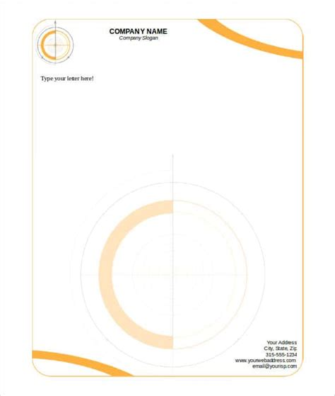 32  Word Letterhead Templates   Free Samples, Examples