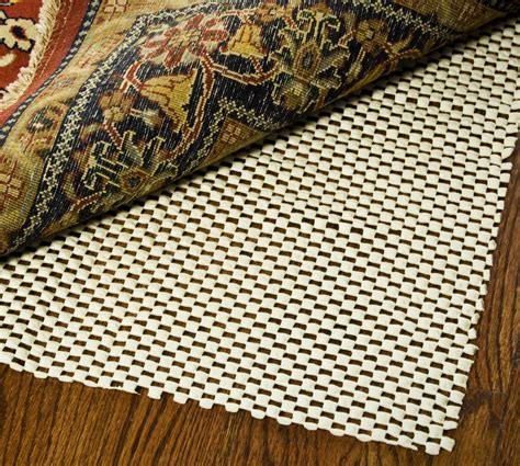 safavieh rug pads safavieh ultra creme 8 ft x 11 ft non slip surface rug pad