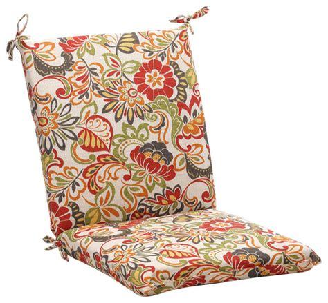 farmhouse chair cushions zoe multicolor squared corners chair cushion farmhouse