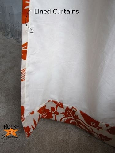 how to make lined draperies did you miss my diy curtains tutorial