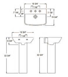 Shower Faucet Height Barclay Porcelain Regular And Corner Pedestal Sinks