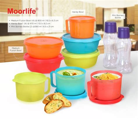 School Set Moorlife moorlife wadah plastik home