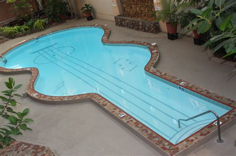 guitar shaped swimming pool decors 187 archive 187 stylish guitar shaped swimming pool