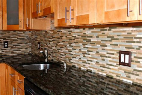 Kitchen Mosaic Tile Backsplash Ideas Kitchen Tiles Afreakatheart