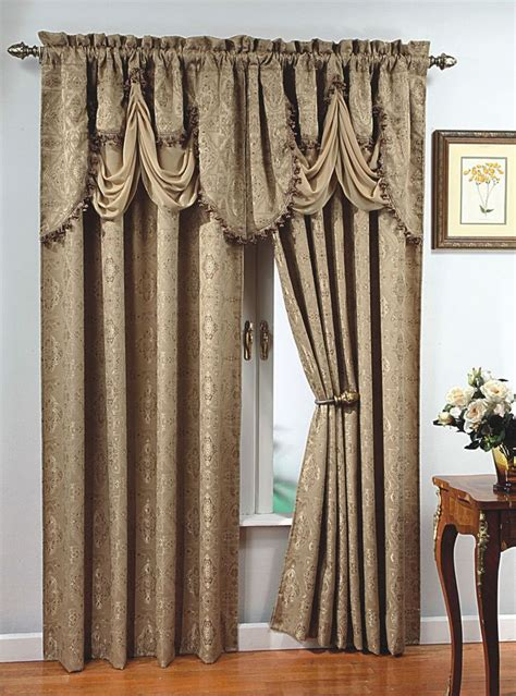 drapes for long windows details about luxury portofino window curtain jacquard