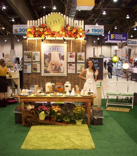 show ideas we the farmhouse fresh line look how their trade show booth is