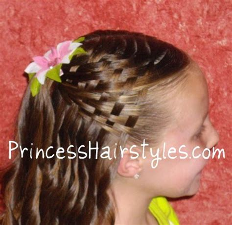 Basket Weave Hairstyle by Basket Weave Hairstyle Hairstyles For