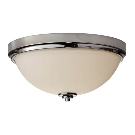 Traditional Bathroom Ceiling Lights Chrome And Opal Glass Flush Fitting Bathroom Ceiling Light Ip44