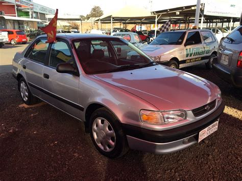 used toyota used toyota corolla 160i gle p s auto for sale in gauteng