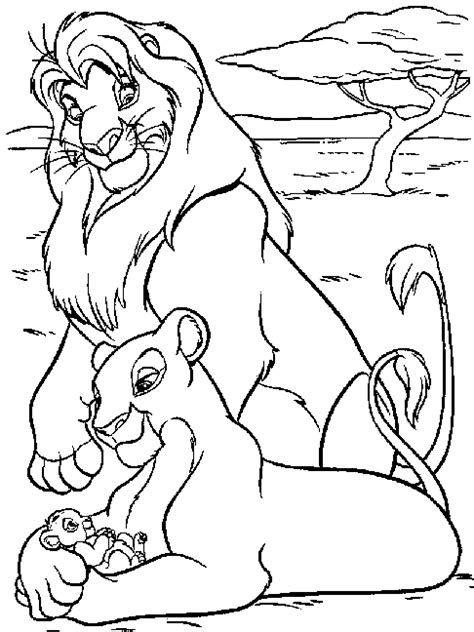 Baby Simba Coloring Book Coloring Pages Baby Simba Coloring Pages