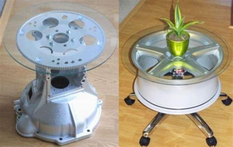 car part home decor how to recycle recycling old auto spare parts