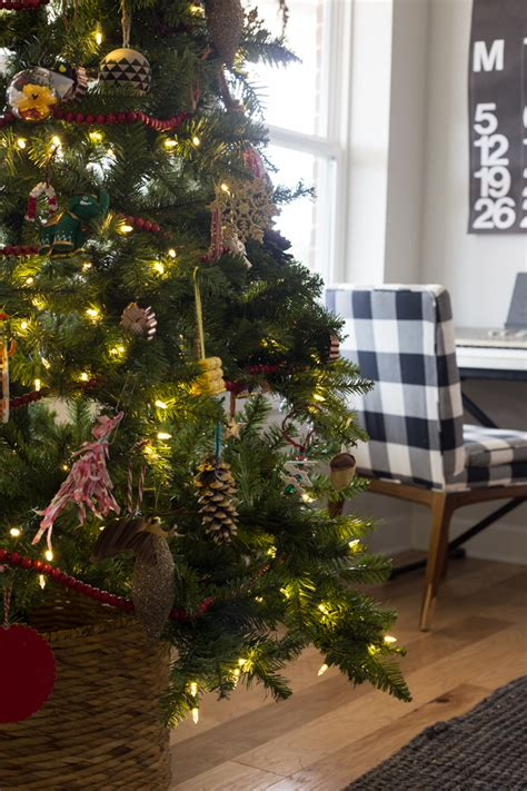 our eclectic kid friendly christmas tree live free