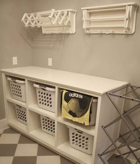 laundry with shelves inexpensive diy shelf laundry room storage ideas