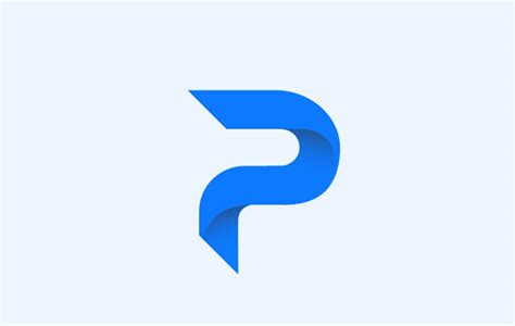 20 Modern Letter Styles in Alphabet Logo Designs for ... P Design Logo