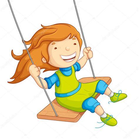 swing illustration baby swinging stock vector 169 stockshoppe 12456581