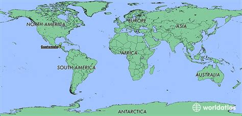 guatemala on world map where is guatemala where is guatemala located in the