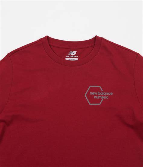 New Balance Shirt Crymson new balance numeric new hex t shirt scarlet flatspot