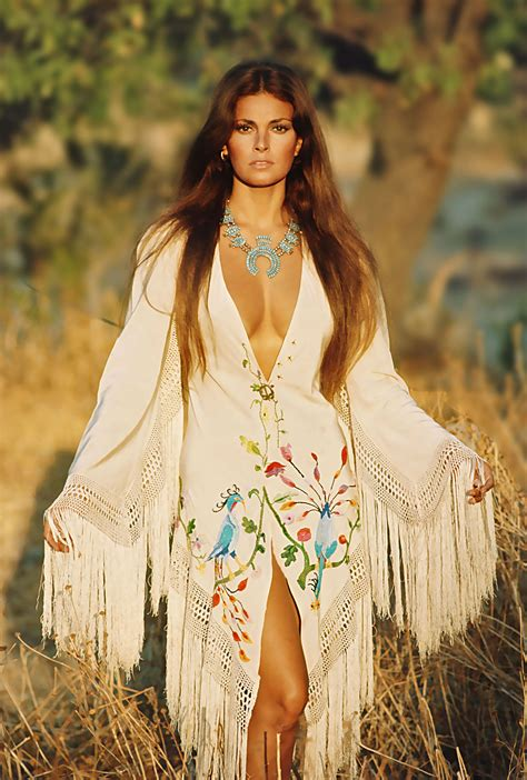 1970s Boho Hippie Fashion | raquel welch famous people pinterest boho hippie