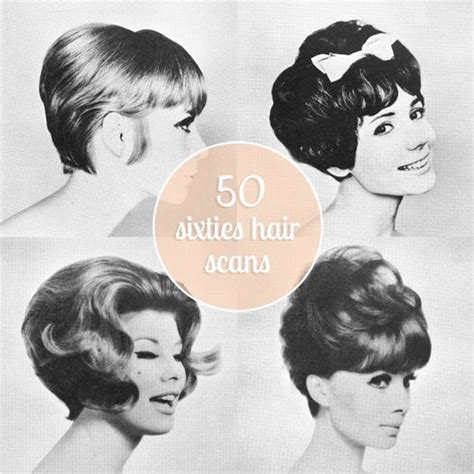 hairstyles of the fifties and sixties scathingly brilliant freebie 50 sixties hair scans