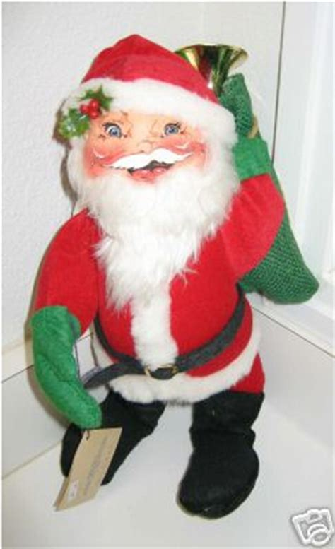 holiday creations santa doll for sale for sale antiques classifieds