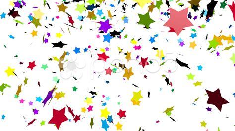 Car Decoration For Birthday Colorful Stars Confetti Clip 32700647 Pond5