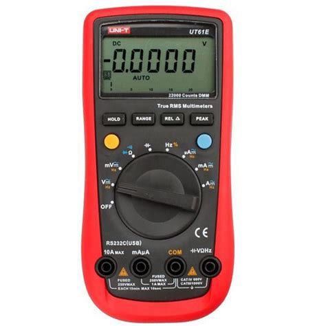 Multimeter Digital Multitester Digital Maxpower uni t ut61e auto range digital multimeter ac dc volt resistance capacitance ebay