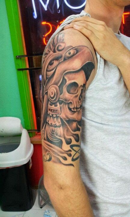 all star tattoo san antonio aztec warrior skull tattoos by adrian flores at