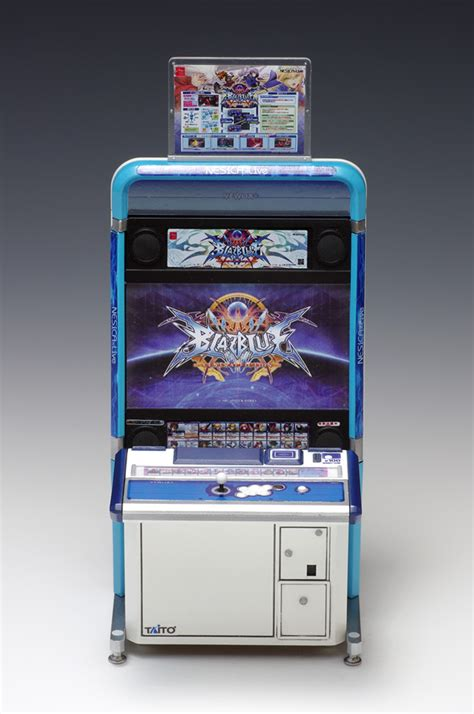 Japanese Arcade Cabinet by Tiny Taito Viewlix Arcade Cabinet Model Clutter Magazine