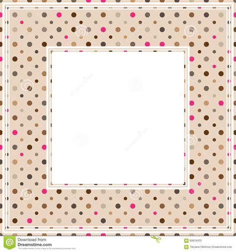 dot pattern border polka dot border stock vector image 60818423