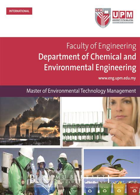 brochure engineering management  brochure environmental technology management