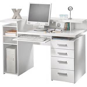 White Desk With Hutch Whitman Office Desk With Hutch White Walmart